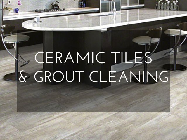Ceramic Tiles and Grout Cleaning in Montreal
